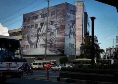 Nike RUN FOREVER Building Wrap