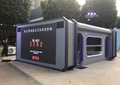 NETFLIX Altered Carbon Installation