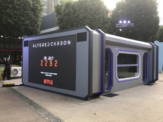 NETFLIX Altered Carbon Installation