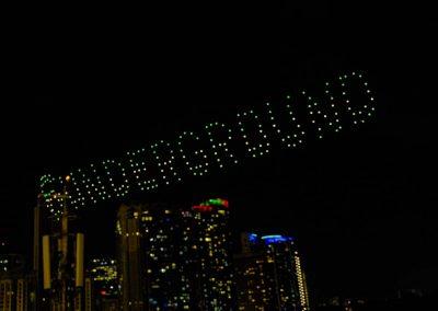 """NETFLIX: """"6 Underground"""" Drone Show"""